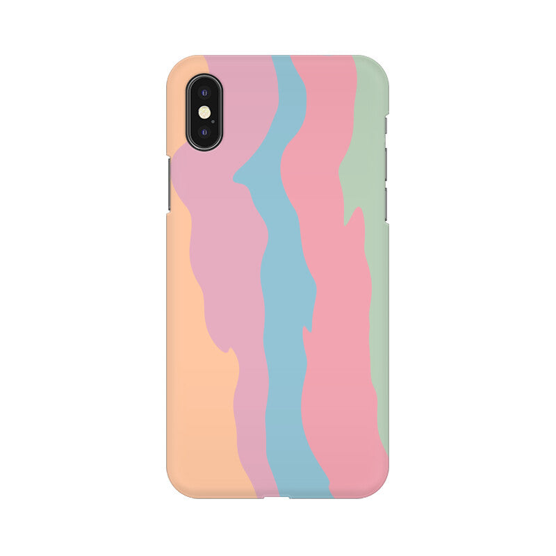 RAINBOW PAINT WALL MOBILE CASE