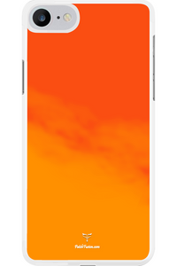 ORANGE NEON GLOW CASE - MOBILE CASE - Patch Fusion