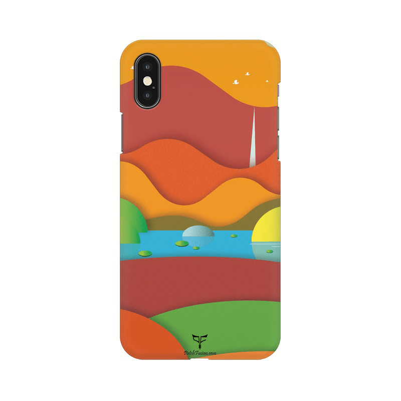 MOUNTAIN VIEW - MOBILE CASE - Patch Fusion