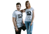HE'S MINE - SHE'S MINE COUPLE T-SHIRT