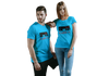 PLAYER 1 - PLAYER 2 COUPLE T-SHIRT