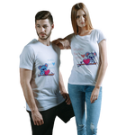 WORLD'S BEST HUSBAND / WIFE COUPLE T-SHIRT