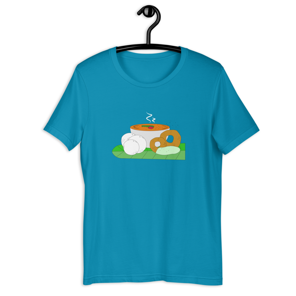 IDLI VADA T-SHIRT - Patch Fusion