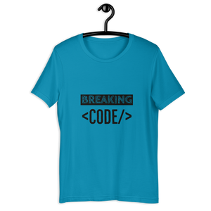 BREAKING CODE T-SHIRT - Patch Fusion
