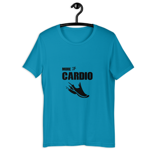 MORE CARDIO T-SHIRT - Patch Fusion