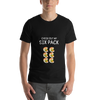 CHECK OUT MY SIX PACK VADA PAV T-SHIRT - Patch Fusion