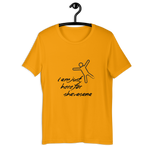 I AM JUST HERE FOR SHAVASANA T-SHIRT - Patch Fusion