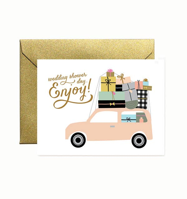 Ginger P. Designs - Bridal Shower Car