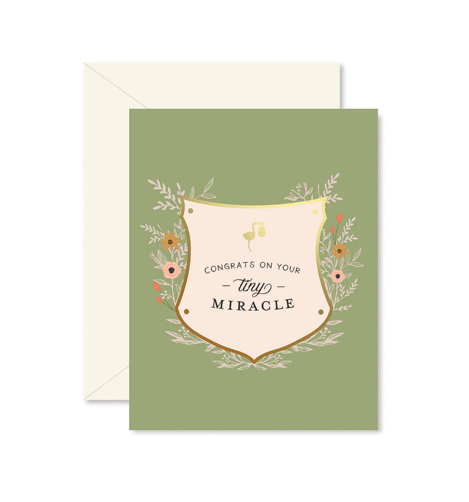 Ginger P. Designs - Tiny Miracle Greeting Card