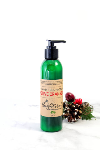 Festive Cranberry Lotion