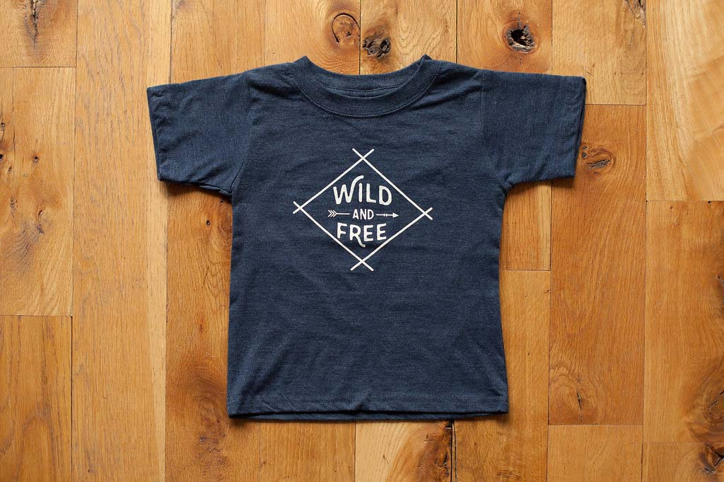 Sweetpea and Co. - Wild And Free T-shirt