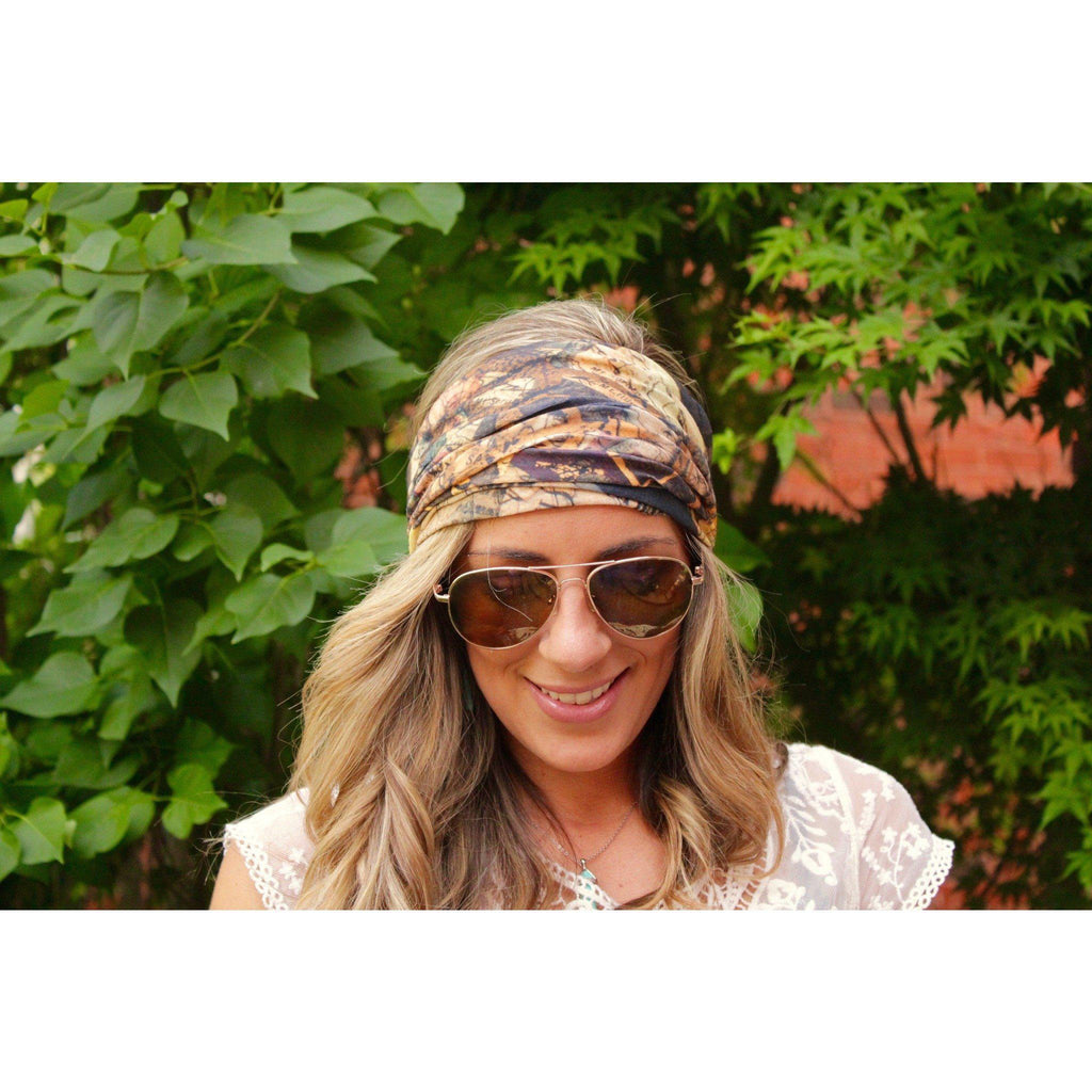 World Map Yoga Headband