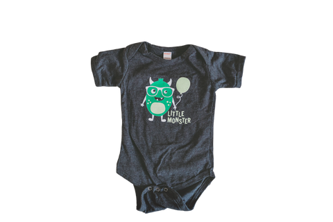 Little Monster baby bodysuit