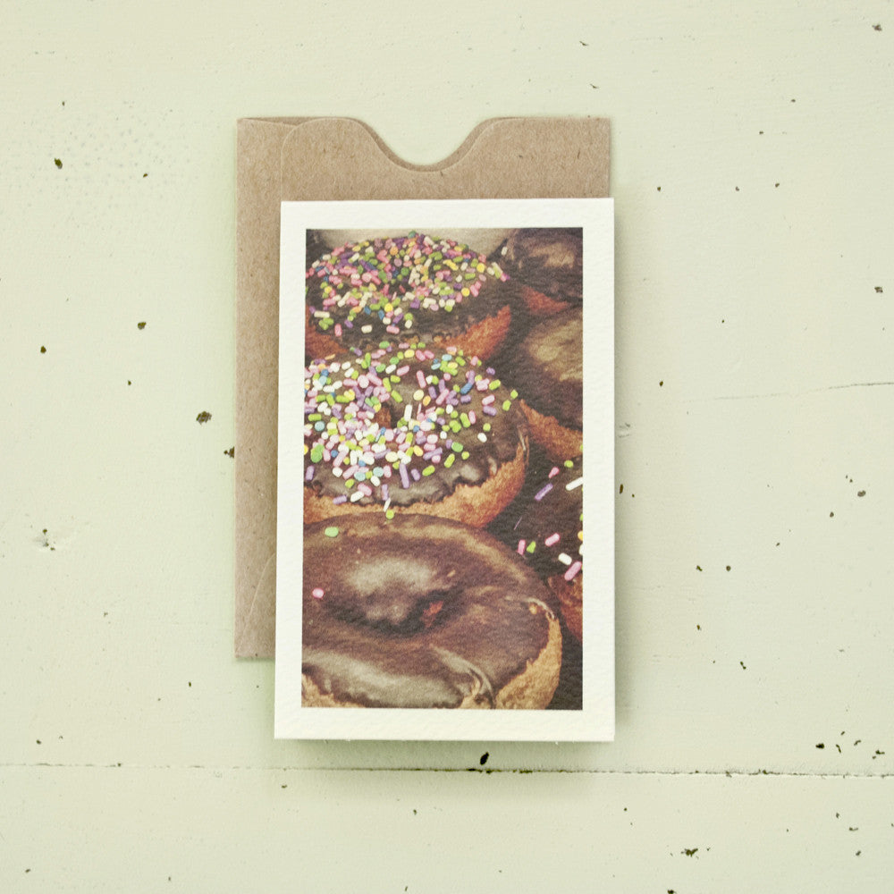 Donuts Enclosure Card