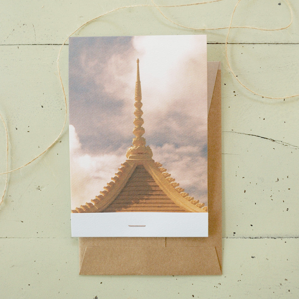 Zen Matchbook-Fold Card