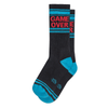 Game Over Ribbed Gym Socks