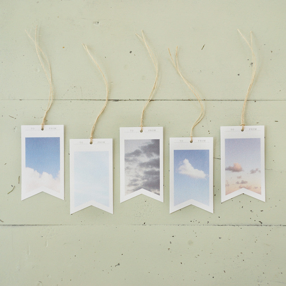 Sky Gift Tags