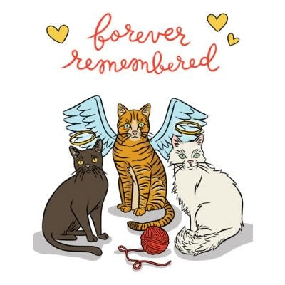 Cats Remembered Card