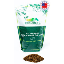 Load image into Gallery viewer, Grubbets - Black Soldier Fly Whole Dried Larvae -- Free Shipping -- - Grubbets