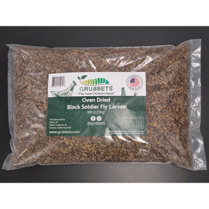 Grubbets - Black Soldier Fly Whole Dried Larvae -- Free Shipping -- - Grubbets
