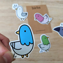 Load image into Gallery viewer, Funny birb stickers