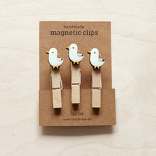 Load image into Gallery viewer, Handmade seagull clips