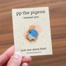 Load image into Gallery viewer, PP the Pigeon Enamel Pin