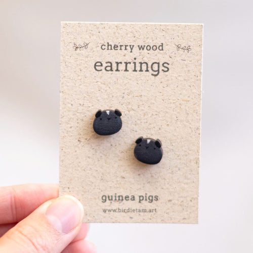 Guinea pig earrings