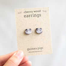 Load image into Gallery viewer, Guinea pig earrings