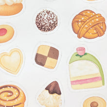 Load image into Gallery viewer, Close up of swedish fika stickers