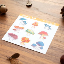 Load image into Gallery viewer, Mushroom stickers