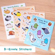 Load image into Gallery viewer, B-grade sticker sheet pack