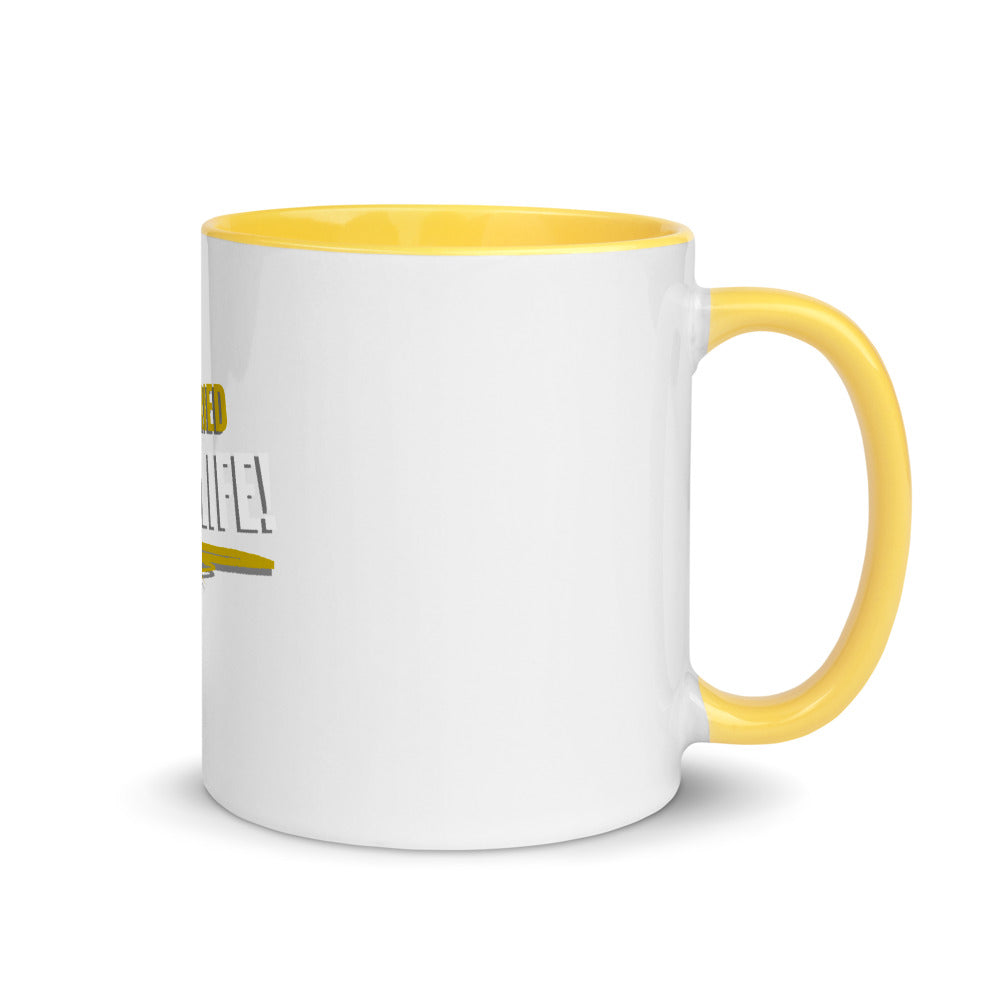 Married For Life Mug with Color Inside