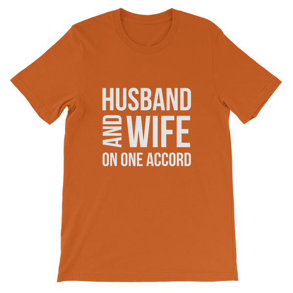 Husband and Wife On One Accord Short-Sleeve Unisex T-Shirt