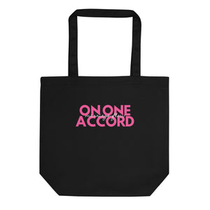 On One Accord Poppin' In Pink Eco Tote Bag