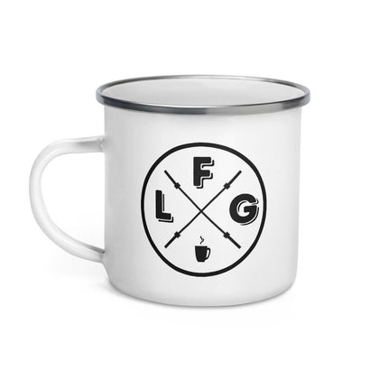 LFG Morning Enamel Mug