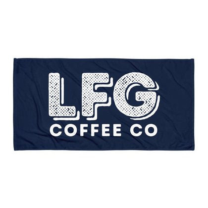 The LFG Coffee Co Gym Towel