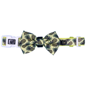 "Dog Collar & Bow Tie ""Lookin ' Pine"