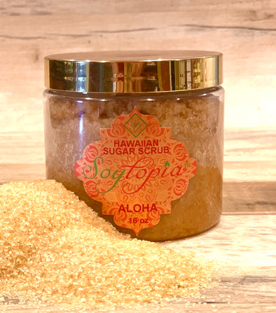 Hawaiian Sugar Scrub