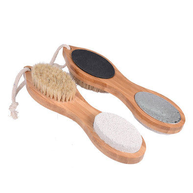Pedicure brush, 4 in 1