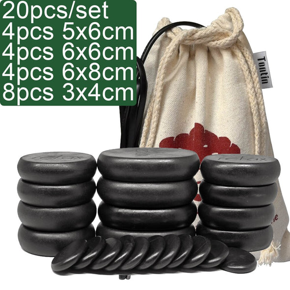 Basalt Hot Stone Massage Set