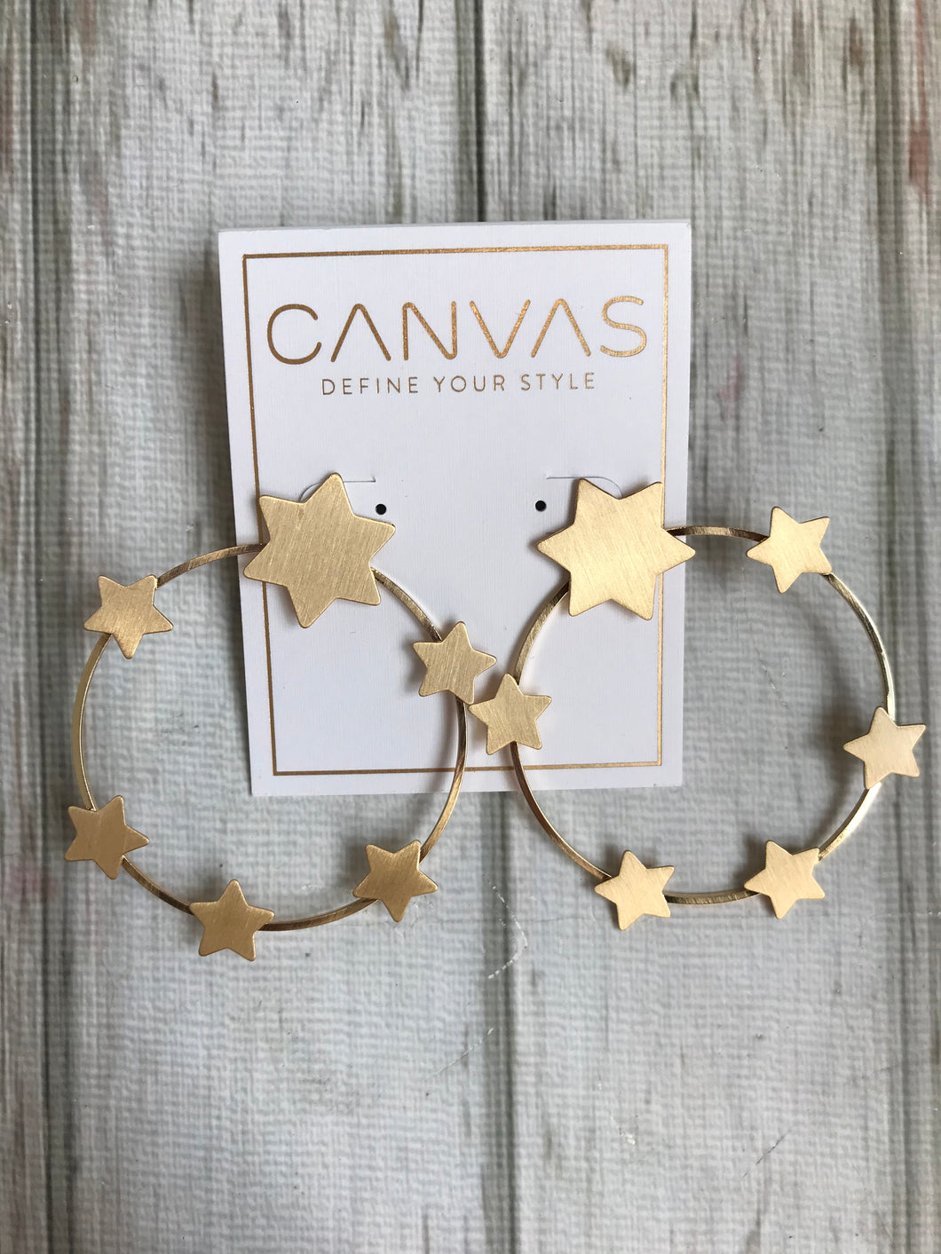 Juliette Star Hoops