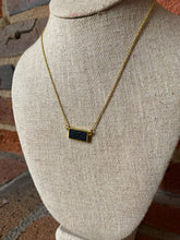 Load image into Gallery viewer, Leather Bar Necklace