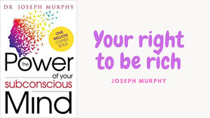 Your right to be right - Joseph Murphy