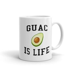 Guac Is Life - Funny Avocado Mug