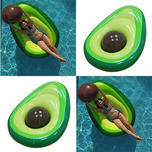 Giant Avocado Inflatable Pool Float