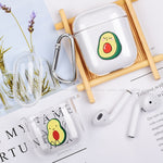 Cute Avocado AirPods Case - Hard Case