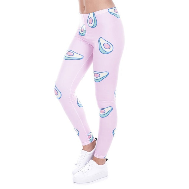 Avocado Leggings - Pink