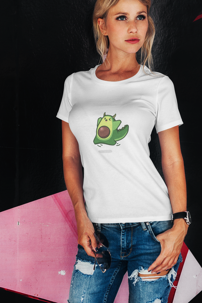 Avocado Dragon Women's The Boyfriend Tee