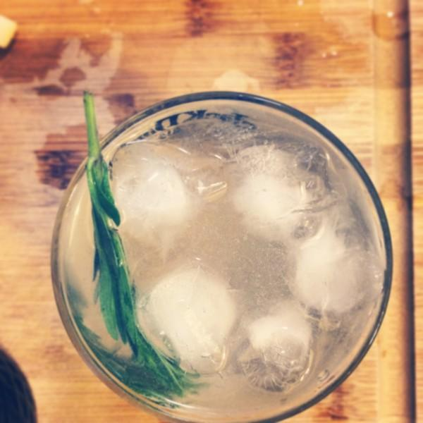 Recipe: Tarragon Buck Spring Cocktail